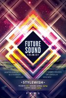 Future Sound Flyer by styleWish