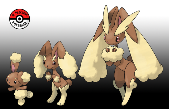 427 - 428 Buneary Line by InProgressPokemon