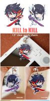 KLK - clear acrylic charms by Ninamo-chan