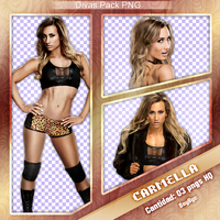 Divas Pack Png - CARMELLA by KellyKellyBoy