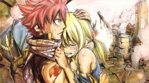 FT-Phoenix Prietstess SDCC Exclusive-NaLu Hug by alazic02
