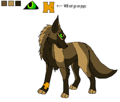 Wolf Breedable by WolfStarr7