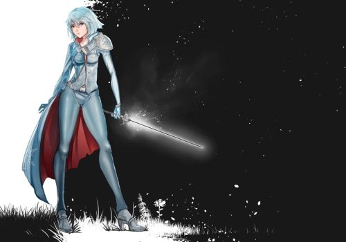 RWBY - Weiss (Commission) by anonamos701