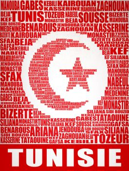 Tunisian Txt Flag by graffadetoart