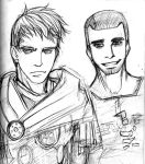 Lucius and Titus - Rome by LaCidiana