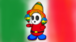Mexican Shy Guy Maracas by DarkraDx