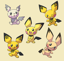 PokemonSubspecies: Pichu by CoolPikachu29