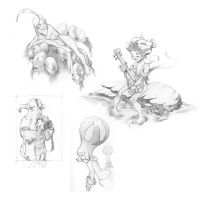 May Sketches by CasCanete