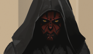 Darth Maul Speedpaint by grampsart