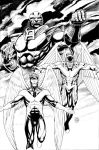 Apocalypse, Archangel, and Angel by craigcermak