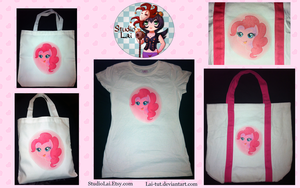 My Little Pony - Custom Crafts - Pinkie Pie by Lai-Tut