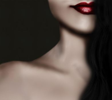Red Lips by Coveryjoo
