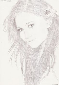 Mary-Kate Olsen 3 by crayon2papier