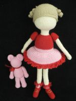 valentine's day doll by GirlOfTheOcean