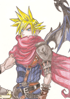Cloud Strife by DOLLce13