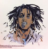 Bob Marley by jasonjantaya