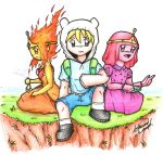 Adventure Time: Finn's Love Interest? Fp or Pb? by Fives555