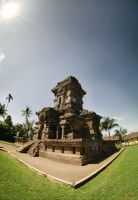 Candi Singosari by indonesia