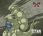 Titan the Tyranitar by Kokuhane
