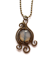Pendant with agate by Darkeyes76