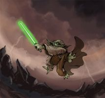 Master Yoda by Steel-Eyes