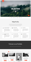 Objective - Responsive Portfolio Photography Theme by sandracz
