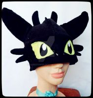 toothless hat by akirepower
