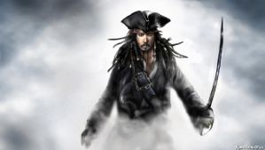 Captain Jack Sparrow by KomyFlyinc@ by KomyFly
