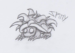 Mario Creepy Enemies #9: Spiny by nick3529