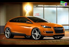 Ford Focus WSE - WBT 2010 by kairusevon
