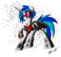 Vinyl Scratch Coloured (Updated) by Theorous