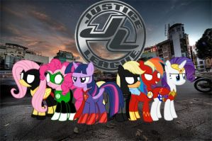 MLP Justice League by Bronyfan4269