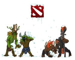 Dota 2 - Winter wonderlane by spidercandy