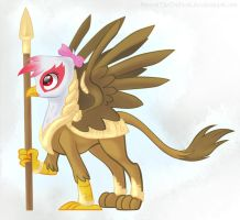 Gryphon comission by DiscordTheTrollest