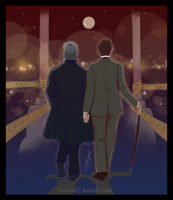 Mystrade - Romantic Crime Scene by RedPassion