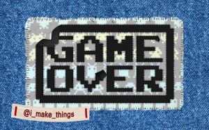 Game Over Sewn by GAME-OVER-CUSTOM