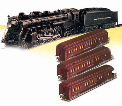 Lionel 773 New York Central Hudson Set by mabmb1987