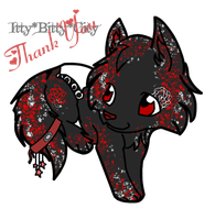 Thank You - TheBlackAngel07: Glint by Whispered-Time
