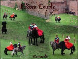 Riders Couple pack by Comacold-stock