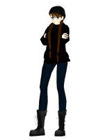 MMD Winter Bailey by Theshadowman97