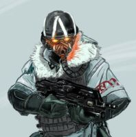 Killzone 3: Snow Soldier by JimMandrake