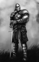 Knight by artofmarius