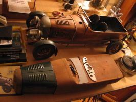 12th Scale Copper Bentley Blower by Carl-Seager