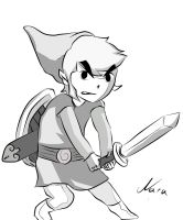 Toon Link by Narange
