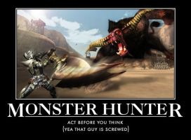 Monster hunter by hunterdust