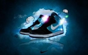 Nike Dunk High by Mio4