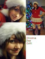 Christmas Cheer Outfit by RedbloodVampiress