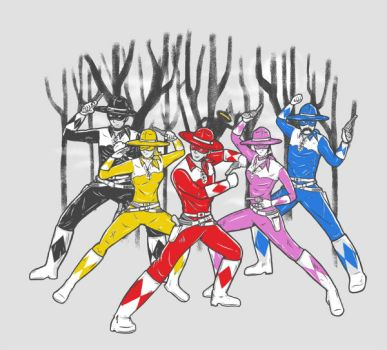 The Mighty Lone Rangers by eQuivalent12