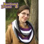 Asexual Pride Infinity Scarf by ManifestedDreams