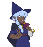 blue taako by SummerSnowLeopard